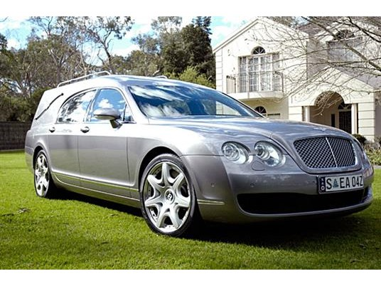New Hearses Bentley Sedan Hearse